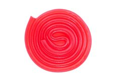 Sweet jelly spiral Royalty Free Stock Photo
