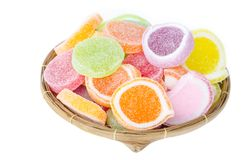 Sweet jelly sugar. Royalty Free Stock Photo