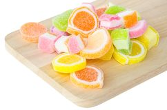 Sweet jelly sugar. Royalty Free Stock Photography
