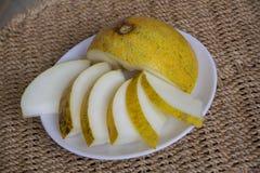 Sweet juicy melon Stock Image