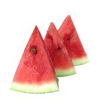 Sweet juicy watermelon with reflection Royalty Free Stock Photo
