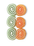 Sweet  jujubes, twisted spiral  Stock Photo