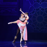 """Sweet kiss- ballet """"One Thousand and One Nights"""" Royalty Free Stock Photos"""