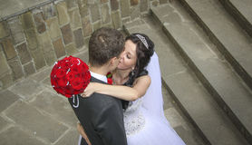 Sweet kiss Royalty Free Stock Photography