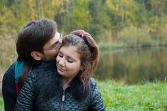 Sweet kiss Stock Photos