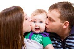 Sweet kisses Royalty Free Stock Photos