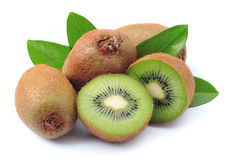 Sweet kiwi fruit Stock Images