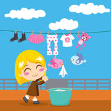 Sweet Laundry Stock Images