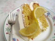 Sweet Lemon Cake Royalty Free Stock Photography