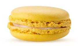 Sweet lemon macarons Royalty Free Stock Photos