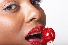 Sweet lips Royalty Free Stock Photos