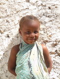 Sweet little African girl smiling Royalty Free Stock Photo