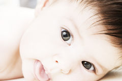 Sweet little baby Royalty Free Stock Image