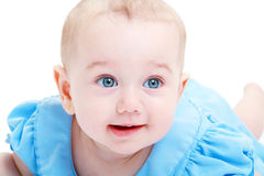 Sweet little baby Stock Images