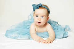 Sweet little baby, cute small girl Stock Photography