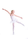 Sweet little ballerina Stock Images