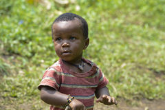 Sweet little Boy in Africa Stock Photo