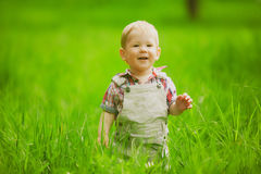 Sweet little boy Stock Photos