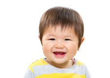 Sweet little child smile Stock Photos