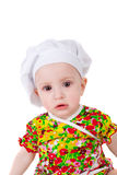 Sweet little cook Stock Photos