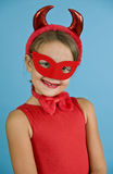 Sweet Little Devil Royalty Free Stock Photography