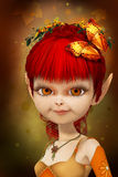 Sweet little elf Royalty Free Stock Photography