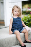 Sweet little girl Stock Images