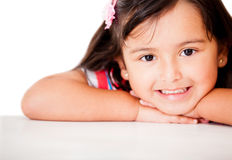 Sweet little girl Royalty Free Stock Image