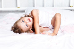 Sweet little girl Royalty Free Stock Images