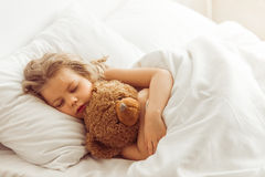 Sweet little girl Stock Photos