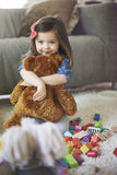 Sweet little girl Stock Photos