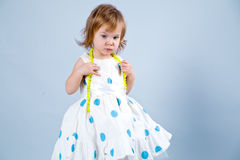 Sweet little princess Stock Photography