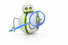 Sweet little robot Royalty Free Stock Images