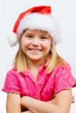 Sweet little Santa Stock Image