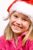 Sweet little Santa Royalty Free Stock Images