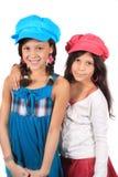 Sweet little sisters Stock Image