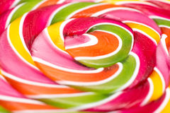 Sweet Lollipop Closeup Details Royalty Free Stock Image