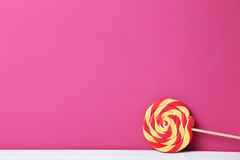 Sweet lollipop Stock Image