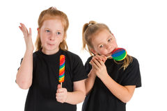 Sweet lollipops Stock Photography