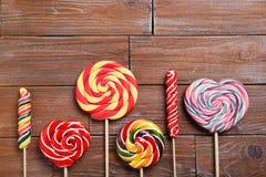 Sweet lollipops Royalty Free Stock Photo