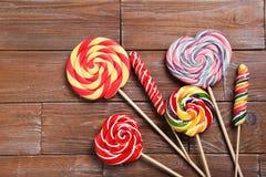 Sweet lollipops Stock Photography