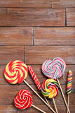 Sweet lollipops Royalty Free Stock Photography