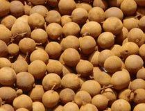 Sweet longan fruit Stock Images