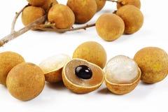Sweet longan Stock Photos