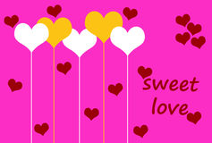 Sweet love Royalty Free Stock Image
