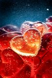 Sweet love background, Valentine`s Day Sweet Heart jelly royalty free stock images