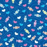 Sweet love candy heaven Royalty Free Stock Image