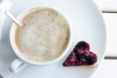 Sweet love of coffee Royalty Free Stock Photo
