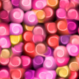 Sweet love patten. Sweet candy love background stock illustration