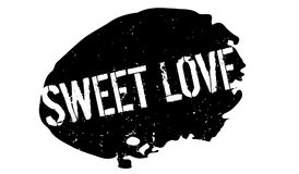 Sweet Love rubber stamp Royalty Free Stock Images